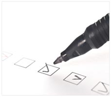Checklist to follow before direct mailing and marketing